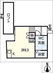 LE COCON新川町[1階]の間取り