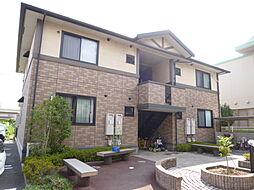 岡山県倉敷市神田2丁目の賃貸アパートの外観