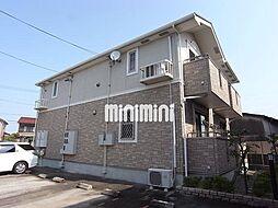 愛知県名古屋市西区比良4の賃貸アパートの外観