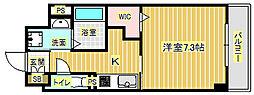 石塚アネックス[4階]の間取り