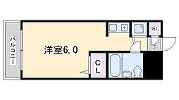 ジョイフル津田沼III[307号室]の間取り