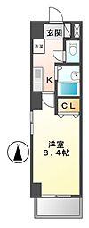 プロビデンス泉1[6階]の間取り