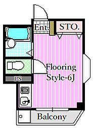 パールマンション[3階]の間取り