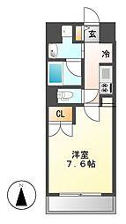 アマーレ葵[8階]の間取り
