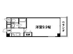 STRUCTURE鴨川紫明[5階]の間取り