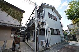 兵庫県神戸市須磨区大手町3丁目の賃貸アパートの外観