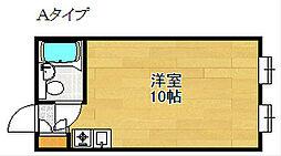 メゾンつばさ[2階]の間取り