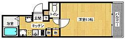 イマージュ赤坂[1階]の間取り