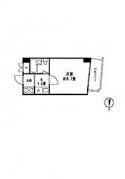 ロイヤルビレッジ450[3階]の間取り