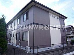 香川県高松市国分寺町新名の賃貸アパートの外観