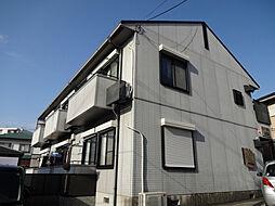 大阪府豊中市上野東1丁目の賃貸アパートの外観