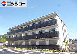長良川サンハイツ A棟[1階]の外観