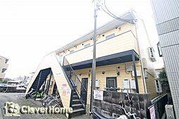 神奈川県相模原市南区相武台2丁目の賃貸アパートの外観