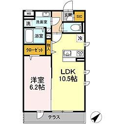 ・コンティニュエ[2階]の間取り