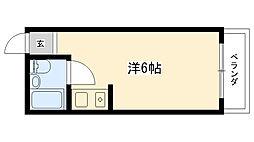 寿マンション[A206号室]の間取り