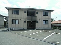 ディアコート西田 A棟[2階]の外観
