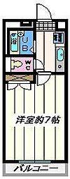 埼玉県八潮市八潮4丁目の賃貸マンションの間取り