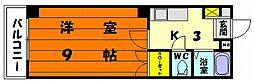 ピュア香住ヶ丘[2階]の間取り