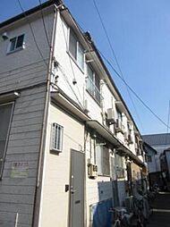 東京都台東区谷中5丁目の賃貸アパートの外観