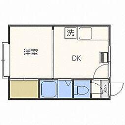 サンコート栄通13A棟[3階]の間取り