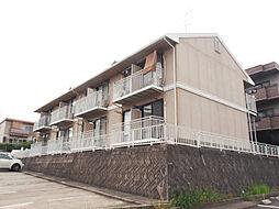 愛知県名古屋市名東区文教台1丁目の賃貸アパートの外観