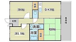 蒲田ハイツ[106号室]の間取り