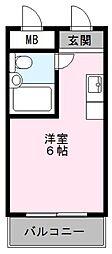 MアンドFマンション[3階]の間取り