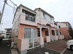 千葉県市原市玉前の賃貸アパートの外観