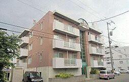 北海道札幌市白石区本郷通13丁目北の賃貸マンションの外観