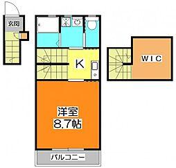 cerisier〜スリジエ〜[2階]の間取り