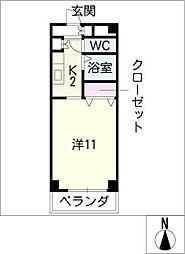 NEXT[3階]の間取り