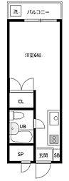 グリーンハイム桜塚[2階]の間取り
