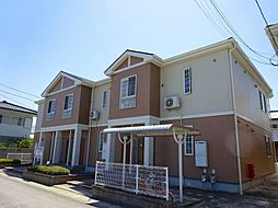 徳島県徳島市国府町西黒田字南傍示の賃貸アパートの外観