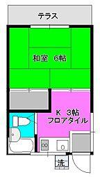 [一戸建] 神奈川県相模原市中央区相模原8丁目 の賃貸【神奈川県 / 相模原市中央区】の間取り