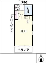 FUWAHOUSE[4階]の間取り
