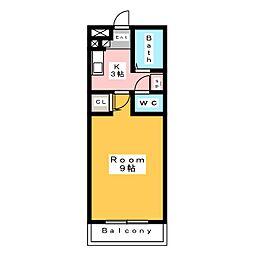 ガイア[1階]の間取り