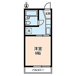 大島コーポラス[2階]の間取り