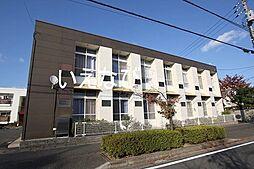 岡山県岡山市北区上中野1丁目の賃貸アパートの外観