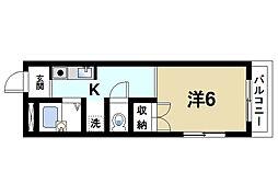 上田ビル[3階]の間取り