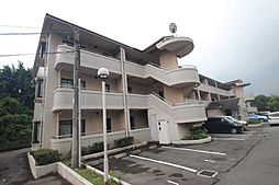 広島県広島市佐伯区五日市町皆賀の賃貸マンションの外観