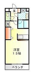 ハイトピア横浜[6階]の間取り