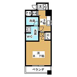 BPRレジデンス久屋大通公園[5階]の間取り