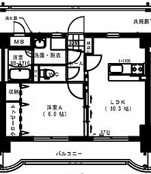 ESPOR[4階]の間取り