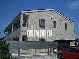 愛知県名古屋市中川区戸田1の賃貸アパートの外観