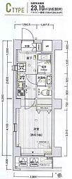横浜市営地下鉄ブルーライン 阪東橋駅 徒歩5分の賃貸マンション 7階1Kの間取り