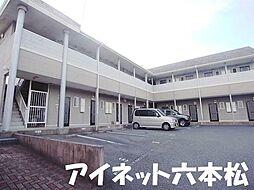福岡県福岡市城南区神松寺3丁目の賃貸アパートの外観
