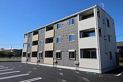群馬県高崎市東貝沢町1丁目の賃貸アパートの外観