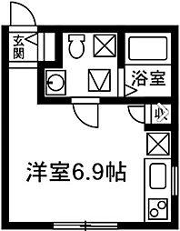プリマ前橋弐番館102[102号室]の間取り