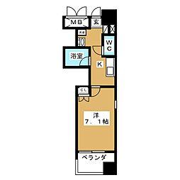ラムセス大須[10階]の間取り
