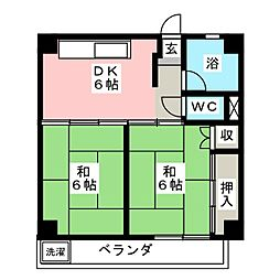 駒場コープ[3階]の間取り
